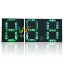 88.8 water level countdown timer led screen