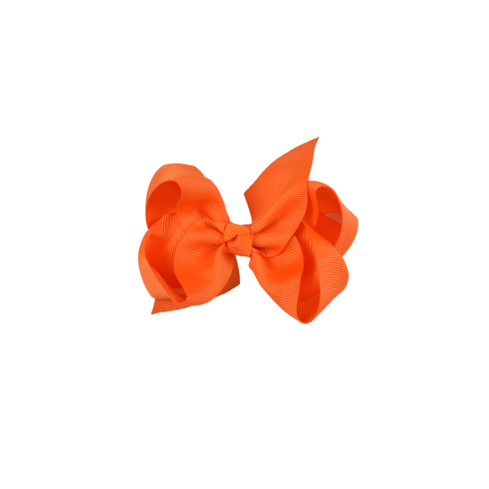 Satin Bow orange