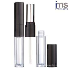 Round Duo Lipstick/Lip Gloss Container
