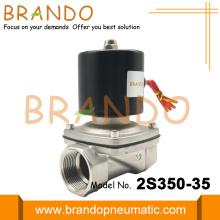 Válvula solenoide de acero inoxidable G1 1/4 '' 2S350-35