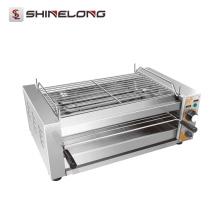 Kommerzieller multifunktionaler tragbarer elektrischer Infrarotdrehgrillgrill BBQ