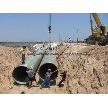 Fibra de vidro anti-vazamento ou FRP ou GRP Pipes