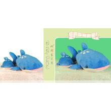 Cute lifelike shark pillow