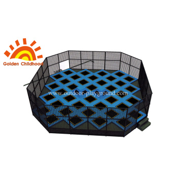 Jumping Square Trampoline Square Park
