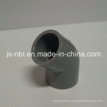 45 Grad PVC-Kunststoff-Ellbogen für den Bau Verwendung
