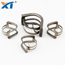 15mm 25mm Stainless Steel Metal Intalox Saddles Ring Packing for distillation column