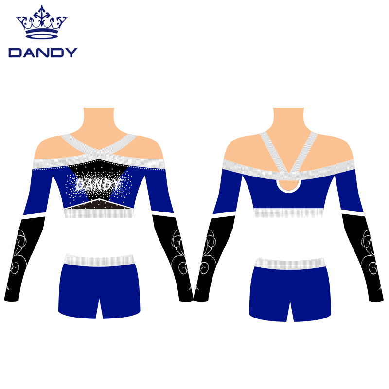 sublimated cheer practice wear