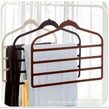 Supermarket high quality multi-purpose thin velvet hanger