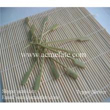 Pincho de bambú natural del lazo de la venta caliente