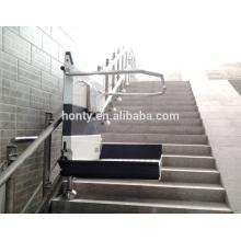 Plataforma inclinada Elevador de silla de ruedas Elevador vertical Escalera elevadora