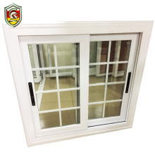 Foshan supplier aluminium frame 3 tracks sliding window home used europe window grill design