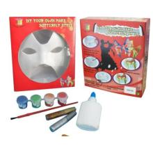 Halloween niños DIY máscara de pintura