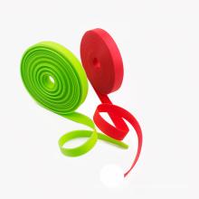 tissu enduit imperméable de polyester de bande enduit de PVC pour la ceinture d'animal familier et de safty