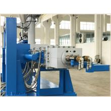 Double Twin Screw Plastic Sewer PVC Drainage Pipe Extruder