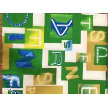 Модная ткань с геометрическим принтом из хлопкового поплина