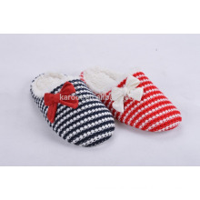 fashion cashmere warm quite indoor outdoor slipper woman