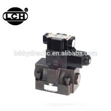 excavator hydraulic block relief directional flow control valve