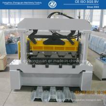 Máquina para fabricar metal de piso decking