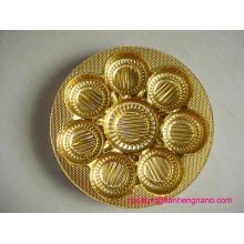 Пищевая металлизированная жесткая пленка Пэт для Блистерной бисквит лотки