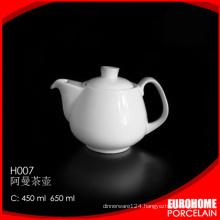 Eurohome wholesale porcelain dinner catering tea pot