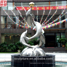 2016 Neue moderne Skulptur Made In China Urban Statue Erfolgreicher Fall