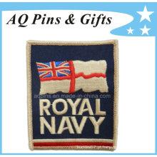 Remendo do bordado para a marinha real BRITÂNICA