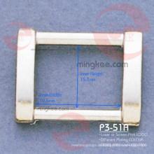 Rechteckringschnalle für Taschenzubehör (P3-51A)