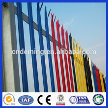 Heavily Galvanized hot sale stations Fence palisade fence (Deming factory)
