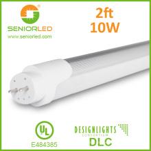 UL Dlc T8 / T10 / 4FT / 8FT Luz de tubo de aluminio del LED
