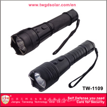 High Voltage Self Defense with LED Flashlight