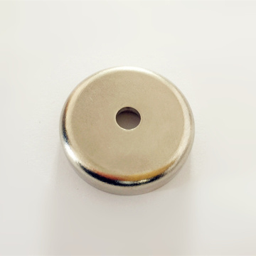 Ndfeb Neodymium pot magnets avec trou traversant