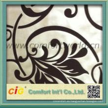 Moda más suave poliester reúne la tela para tapicería cortina