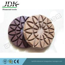 80mm Velcro Backed Diamond Floor Polishing Pads for Concrete Grinding Tools