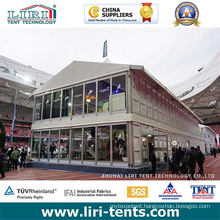 Two Story Tents 15X15m Used as Meeting Room/Conference/ Temporay Office