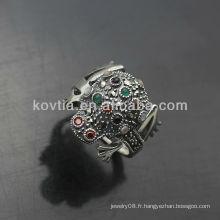 Vente en gros d'anneaux en argent thaïlandais de haute qualité pour les hommes