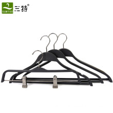 ABS material fashion shops usage  space  saving plastic hangers