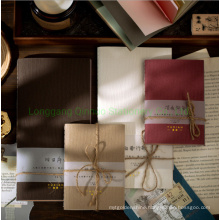 Special Paper Notebook with Different Paper Material Scrapbook