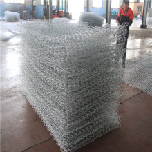 Weaved Wire Mesh Gabions Box för River Protection