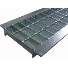 Couverture de ravinaille de grille en acier et couverture de puits, galvanisation à chaud