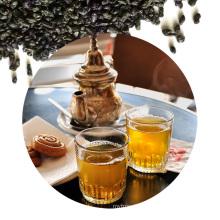 China green tea gunpowder Morocco Africa rolled bubble tea green tea for algeria