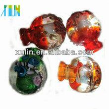 Muitas cores murano colar de pingente de vidro de murano colar de pingente de vidro