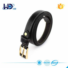 Fashion Genuine Leather Belt with Sewing Thread