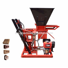 FL1-25 Clay cement interlocking brick machine in indonesia price