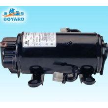 Compresor de aire acondicionado de aire acondicionado 12V 24V DC para la carretilla elevadora camión cabina excavadora grúa cangrejo un c