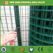 Green PVC Coated V Bend Fencing Mesh, Holland Mesh Fence