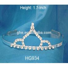 crown tiaras crystal rhinestone wedding hair accessories tall wedding tiaras ribbon crowns