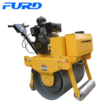 Ce Approved 500kg Walk Behind Mini Road Roller Compactor