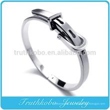 TKB-B0006 Comercio al por mayor Cinturón de acero - Compre brazalete de moda Brazalete de hebilla de acero inoxidable Brazalete y brazalete Brazalete Brazalete Hombre Esposas