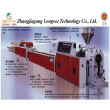 Borde de PVC / UPVC / Extrusor del conducto del panel / de cableado, línea de producción del perfil del PVC