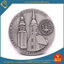 Benutzerdefinierte 3D Antike Brasilien Behörde Metallmünzen (LN-0100)